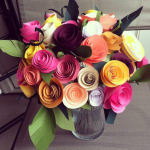 How To Make A Handmade Paper Flower Bouquet Bizmaa