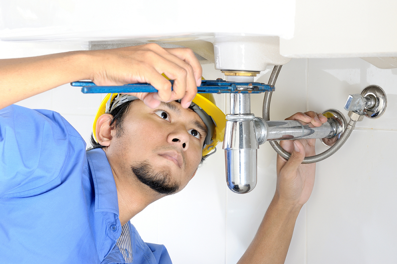 Commercial Plumbing Service.