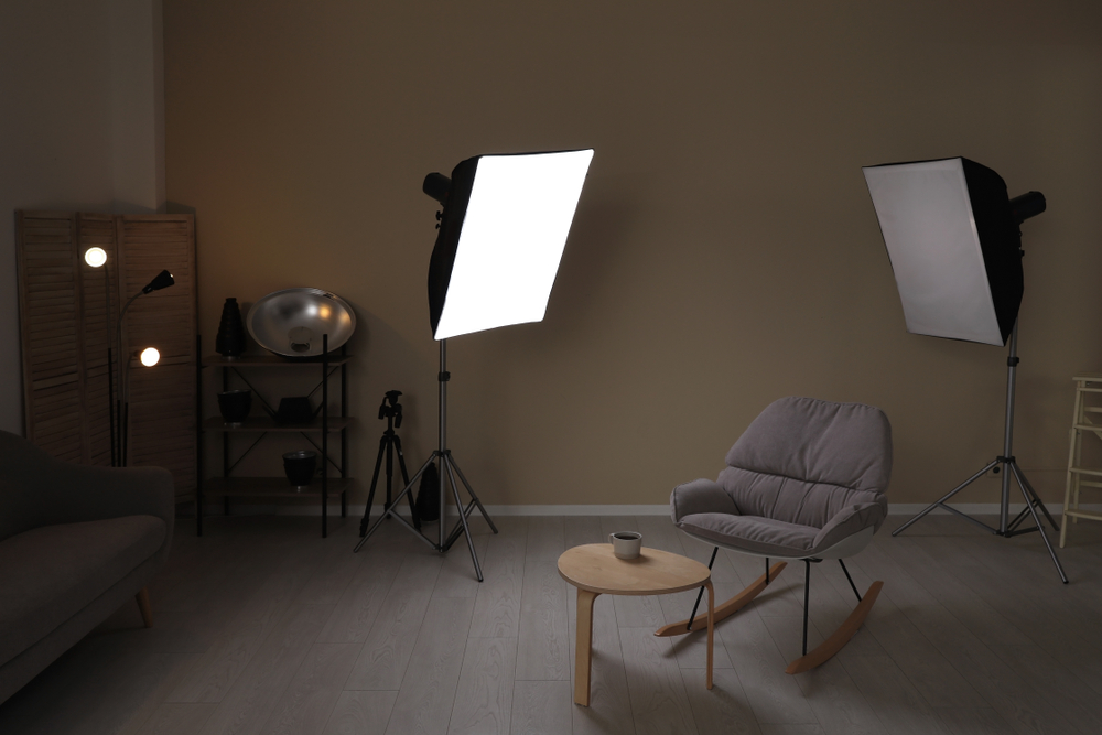Contemporary photography studio.
