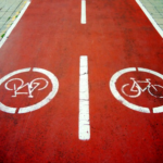 shared path line marking